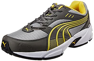 Puma Men's Pluto DP Dark Shadow-Dandelion Running Shoes - 8 UK/India (42 EU)