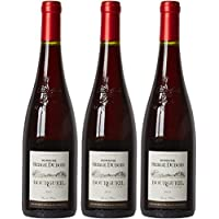 Domaine Dubois France Loire Valley Vin Bourgueil AOP 75 cl - Lot de 3
