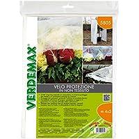 Verdemax 5805, 4x 5m–Protectores de–Red de tejido no tejido blanco