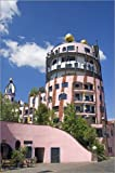 Posterlounge Acrylglasbild 120 x 180 cm: Gruene Zitadelle Hundertwasser House von bildpics - Wandbild, Acryl Glasbild, Druck auf Acryl Glas Bild