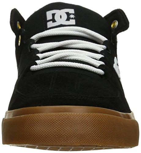 DC - - Herren Lynx Vulc Mid Mid Top Schuh Black/White/Gum
