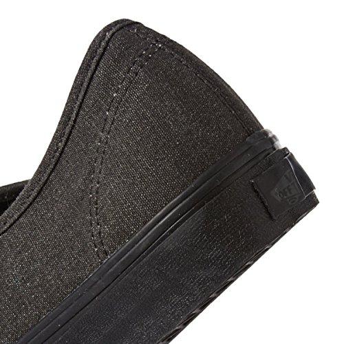 Vans Unisex-Erwachsene Authentic Gymnastikschuhe Nero(Washed Black Black)