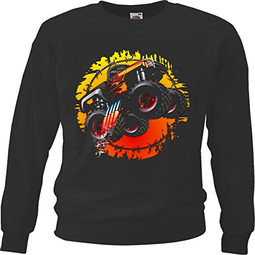 Tank-top Monster-truck (Sweatshirt Kinder