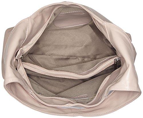 Damen Rubin Schultertasche, Pink (Nude), 13x39x39 cm Bags4less