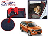 #4: Auto Pearl - Premium Make Red Black Car Pet Seat Cover For - Mahindra XUV 500-2015