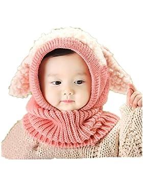 Babybekleidung Hüte & Mützen Longra Niedlich Winter Baby Kinder Mädchen Jungen Warm Woll Haube Kapuze Schal Mützen...