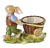 Villeroy & Boch Annual Easter Edition Jahres-Eierbecher 2018, Porzellan, 10 x 6 x 8 cm, Weiß