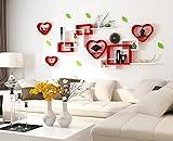 SESO UK- Multi - Funktions - Hintergrund WandGestell Hängebuch Gestell Home Decoration Display Lagerung Rack - Auf das Wohnzimmer Zimmer Restaurant, Covers 200cmx85cm