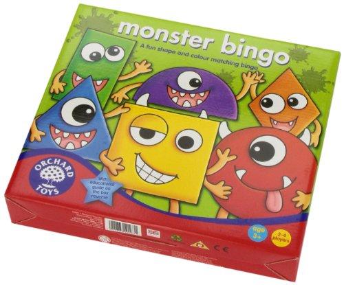 Imagen 3 de Orchard_Toys bingo de los monstruos - Juego de mesa