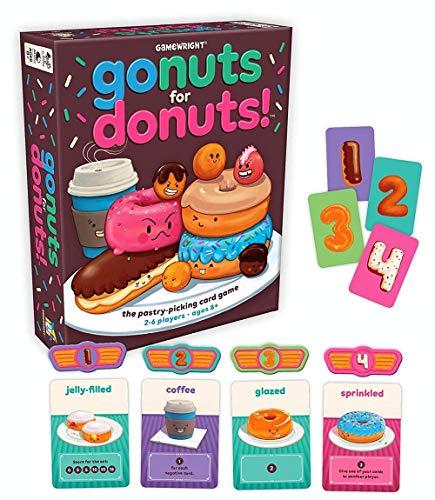 Gamewright Go Muttern für Donuts Spiel