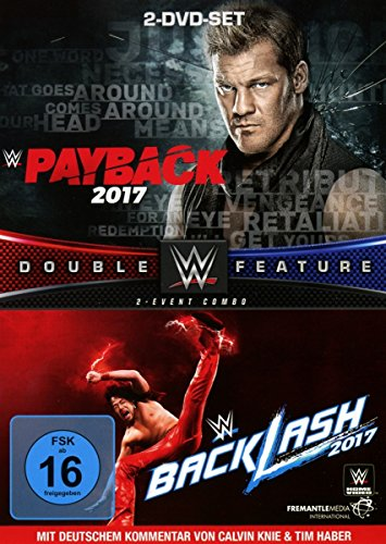 WWE - Payback/Backlash 2017 [2 DVDs] (Jericho Dvd Chris)