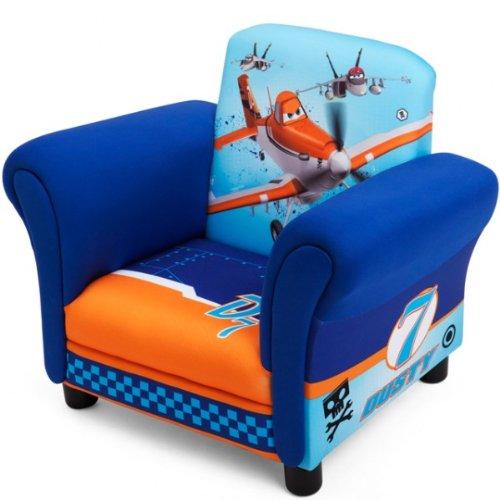 Disney Planes Armlehne Stuhl mit Holz Innenteil Einzelsofa Kindersofa Sessel Sitzplatz NEU