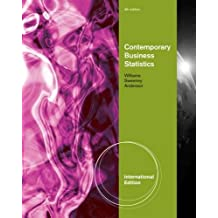 Contemporary Business Statistics, International Edition (with Printed Access Card)