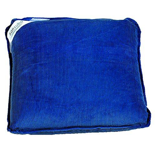 Massagekissen Vibrationskissen Rückenmassage inkl. Batterien, dunkelblau