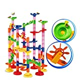 Chocozone Marble Run Track 108 Piece Marble Maze Building Sets Challenge Levels