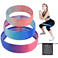 BACKTURE Resistance Bands, Set of 3 Fitness Exercise Loop Bands with 3 Resistance Levels for Strength Training, Physical Therapy, Home Gym Fitness Exercise, Yoga, Rehab, Workout Elastic for Women Men