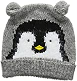 Yumi Women's Penguin HAT Beanie, (Light Grey), (Size: One)