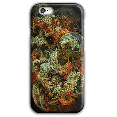 Wellcoda stinkend Gras Knospe Rasta Hülle für iPhone 6 Plus / 6S Plus Rauch Rutschfeste Hülle - Slim Fit, komfortabler Griff, Schutzhülle