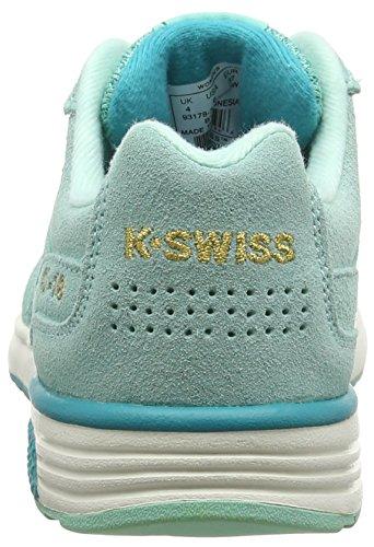 K-Swiss Si-18 Retro 90's Sneaker da Donna Turchese (Holiday/Virdian Grn)