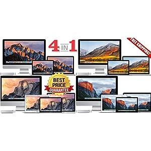 4 in 1macOS High Sierra +macOS Sierra+OS X Yosemite+OS El Capitan USB Drive 32GB