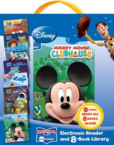 DISNEY MODERN ME READER: ELECTRONIC READER AND 8 BOOK LIBRARY