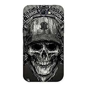 Delighted Grey Skull Terr Back Case Cover for Galaxy Note 2