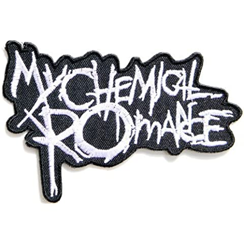 10x7 Big Jumbo back patch Large MY CHEMICAL ROMANCE Logo Punk Rock Heavy Metal Music Band Jacket shirt hat blanket backpack T shirt Patch Embroidered Appliques Symbol Badge Cloth Sign Costume Gift by Large husky music patches