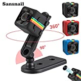 2017nouvelle original Mini caméra SQ11HD Caméscope sq8sq9Upgrade Vision nocturne Mini Appareil Photo 1080p Sport Mini DV Voice Enregistreur vidéo (Noir)