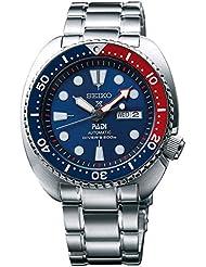 Seiko Herren-Armbanduhr Analog Handaufzug Edelstahl SRPA21K1
