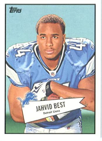 2010 Topps Football Card #52B-17 Jahvid Best Detroit Lions Rookie