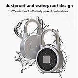 iBellete Bluetooth Fingerprint Smart Padlock IP 65 Étanche Bluetooth Sécurité Serrure Anti-vol Keyless Cadenas Extérieur pour Magasin 15 Ensembles D'Empreinte Digitale