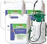 ENVIRA Schutz vor Bettwanzen 3x5Ltr + 5Ltr Sprüher