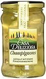 Casa Deliziosa Champignons gefüllt mit einer Frischkäsezubereitung Glas, 2er Pack (2 x 270 g)