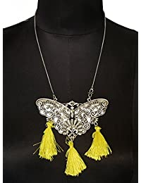 Aamoddhini Party Wear Western Fancy Designer Necklace Set For Women And Girls LN-65