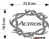Actros Tribel Vers.mrs1 Aufkleber für Scheibe, Lack, Hochleistungsfolie, UV& Waschanlagenfest`+ Bonus Testaufkleber