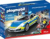 Playmobil 70067 City Action Porsche 911 Carrera 4S Police Multicolore