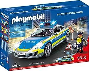 Playmobil 70067City Action Porsche 911Carrera 4S Policía