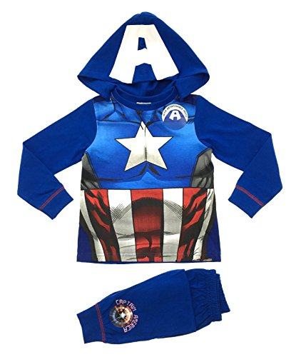 lora-dora-pigiama-due-pezzi-maniche-lunghe-ragazzo-blu-captain-america