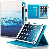 Dteck Schutzhülle für Samsung Galaxy Tablet, Apple iPad, Amazon Kindle, Google Nexus & weitere 16,5-26,7 cm (6,5-10,5 Zoll) Tablet 05 Sea of Clouds for 7.5-8.5 inch Tablet