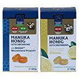 Manuka Honig Lutschbonbons Doppelpack - Zitrone und Propolis (2x 100g)