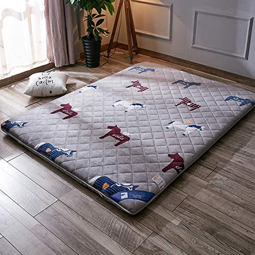 LQ&XL Colchón de futón Tatami japonés
