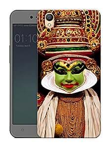 "Humor Gang kathak dancer Printed Designer Mobile Back Cover For ""Oppo A37"" (3D, Matte Finish, Premium Quality, Protective Snap On Slim Hard Phone Case, Multi Color)"