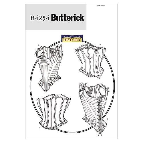 Butterick BTK 4254 (12-14-16) Schnittmuster zum Nähen, Elegant, Extravagant, Modisch