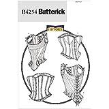 Butterick Patterns B4254 - Patrón e instrucciones para coser corpiños y corsés (de XL a XXL), color blanco