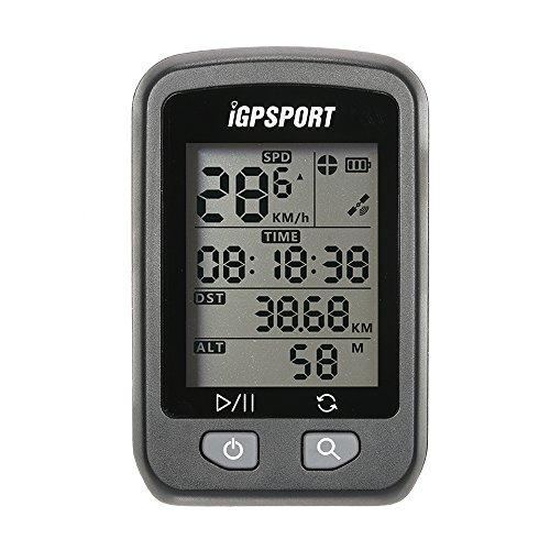Lixada Fahrrad GPS Computer/Entfernungsmesser mit Dem Berg, Wiederaufladbare IPX6 Wasserdicht/Auto Beleuchtung Bildschirm