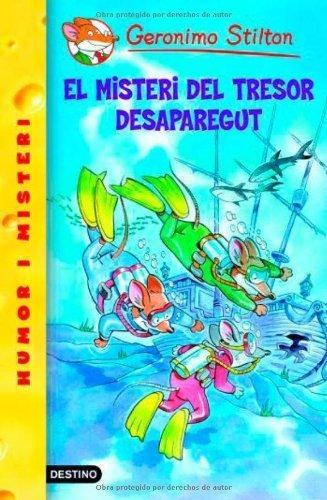 El misteri del tresor desaparegut (Catalan Edition) por Geronimo Stilton