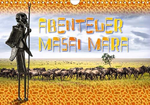 Abenteuer Masai Mara (Wandkalender 2020 DIN A4 quer): Die Masai Mara ist Kenias tierreichstes Reservat, sowohl in Bezug auf die Anzahl der Arten als ... (Monatskalender, 14 Seiten ) (CALVENDO Tiere) - Masai Giraffe