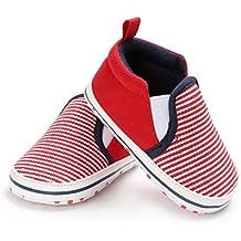 Vovotrade Clásico Bebé Niño Pequeño Cuna Zapatos Ponerse Zapatos Confort Primer Paso Mocasines Prewalker Suave Antideslizamiento