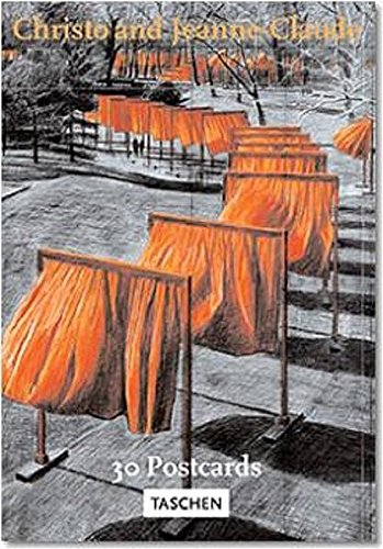 Christo and Jeanne-Claude. The Gates. 30 Postcards. Ediz. illustrata: The Gates, Central Park, New York City (Poster Portfolios S.) por Wolfgang Volz