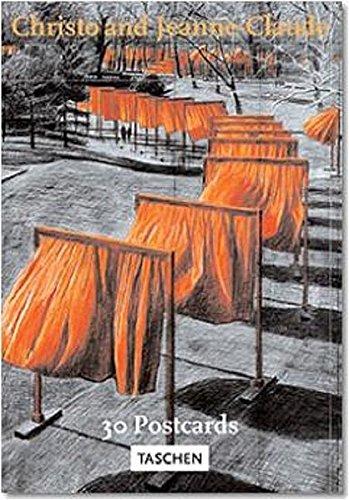 Christo & Jeanne-Claude, The Gates - Postkartenbuch: The Gates, Central Park, New York City (Postcardbooks) -